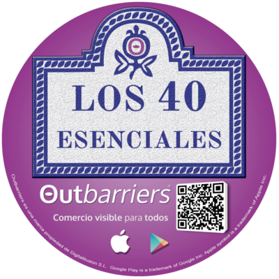 Sticker of the 40 essentials